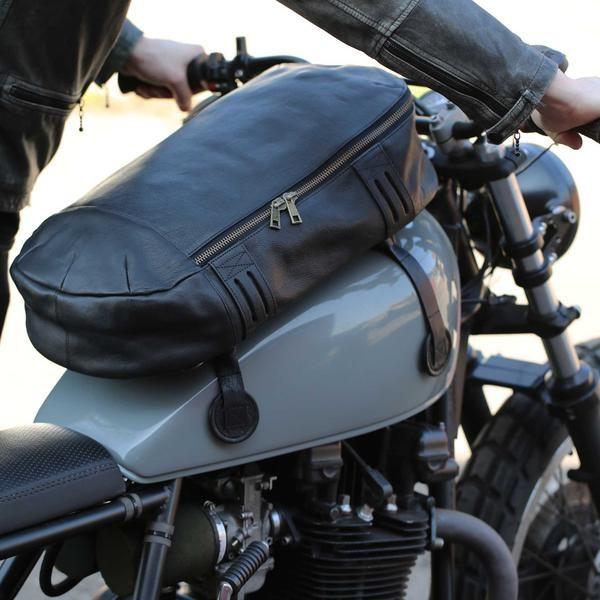 Magnetic Motorcycle Dirt Bike Gas Fuel Tank Phone GPS Saddle Sport Bag For BMW