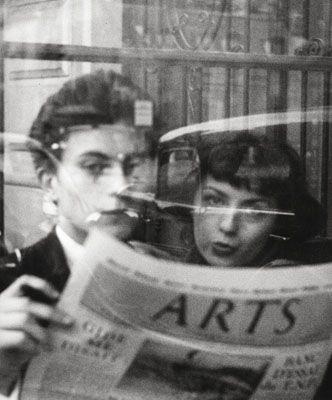 In einem Café, Paris 1952