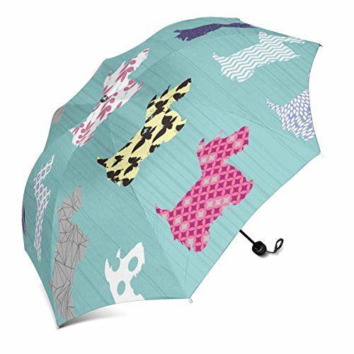 #InterestPrint #Scottie #Dog #Foldable #Portable #Outdoor #Travel #Compact #Umbrella (43 Inch) 1.Material: 100% polyester pongee waterproof fabric and aluminium. 2.Detials: 8 ribs made from strong fiber for extra support. 3.Gripped plastic handle for firm hold. https://travel.boutiquecloset.com/product/interestprint-scottie-dog-foldable-portable-outdoor-travel-compact-umbrella-43-inch/
