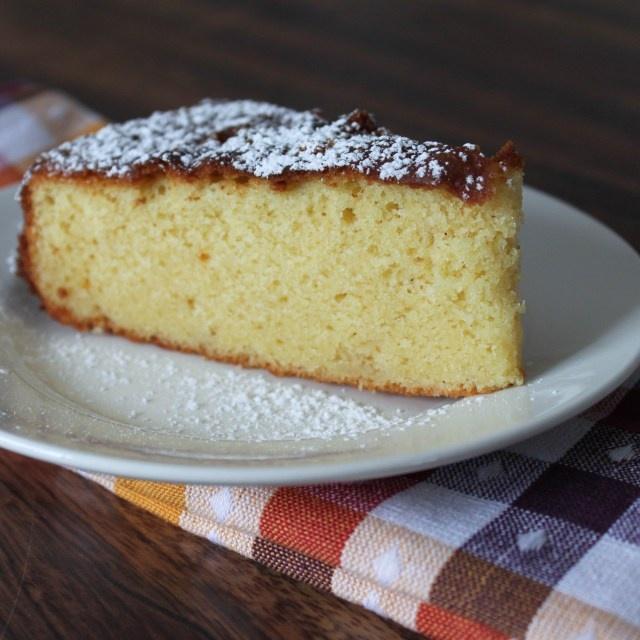 Anna Olson White Chocolate Banana Cake