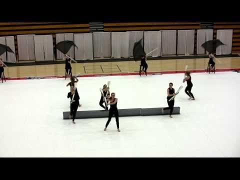 2013 Milton High School Winter Guard - YouTube