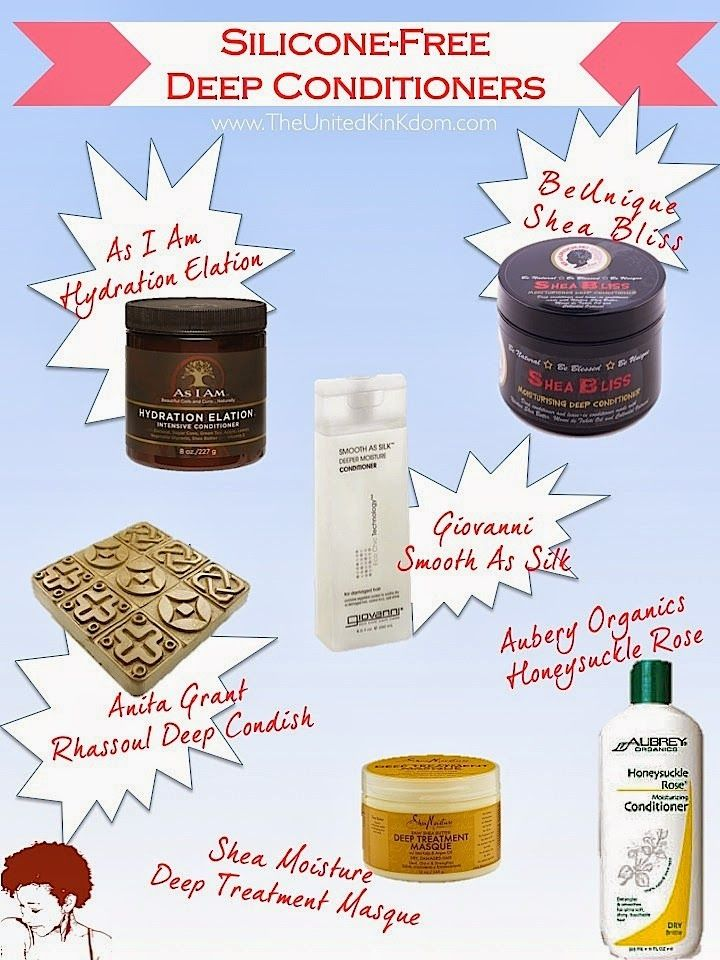 6 SILICONEFREE DEEP CONDITIONERS FOR NATURAL HAIR Uk
