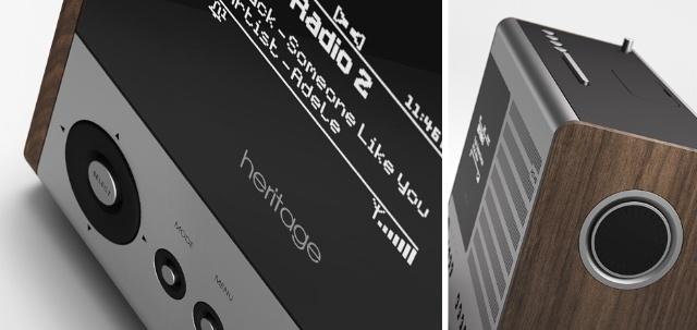 インターネットラジオ対応のオールドラジオ風iPhoneスピーカー「Heritage」は、いかが?