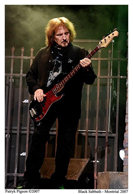 Black Sabbath's bassist Geezer Butler