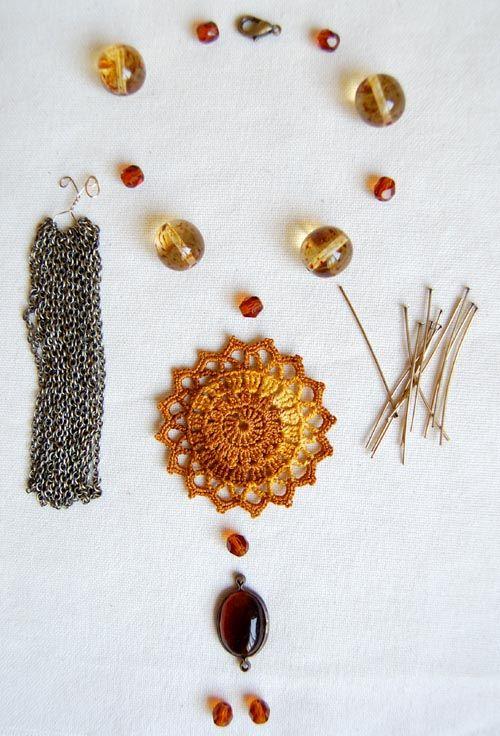 un jardín de hilo: Sun Necklace Pattern