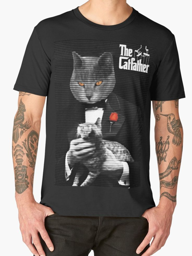 25% off Men's Classic, Tri, Long, Premium T-Shirts. Use code: TEES25.  The Catfather Movie Parody by scardesign11. #sales #save #onlineshopping #onlinesellers #tshirts #thecatfather #thegodfatherparody #mensfashion #fashion #style #cat #39 #family #funny #fun #living #redbubble