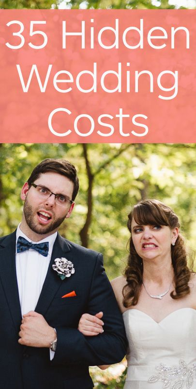 35 Hidden Wedding Costs--Every bride and groom needs this list! Photo by Tandem Tree Photography.