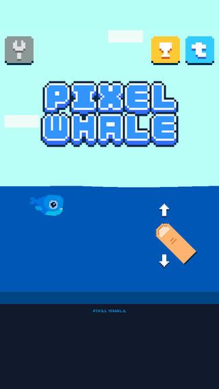 Pixel Whale by Korigame Entertainment