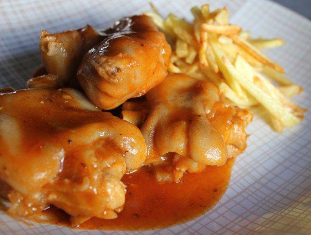 17 mejores im genes sobre comida en pinterest caldo de for Cocinar manitas de cerdo