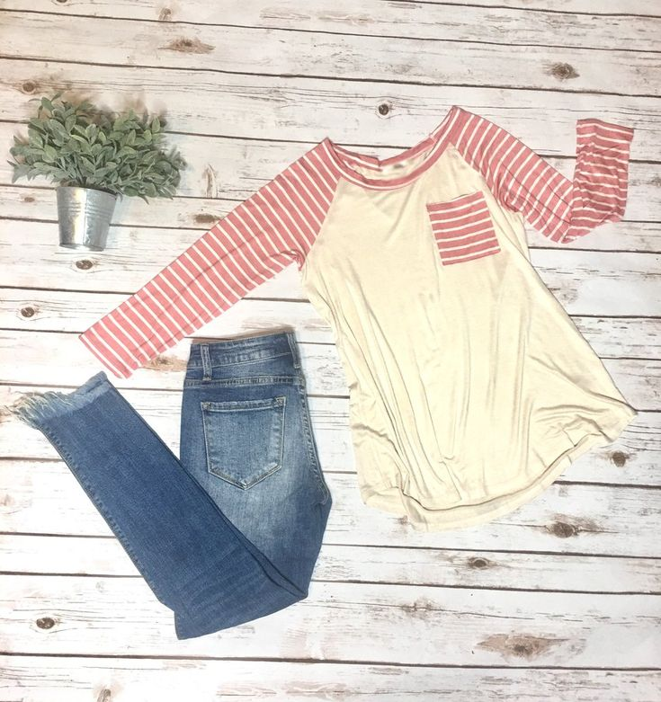 Baseball and Stripes Top