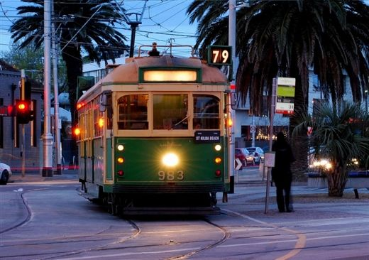 St Kilda Beach tram