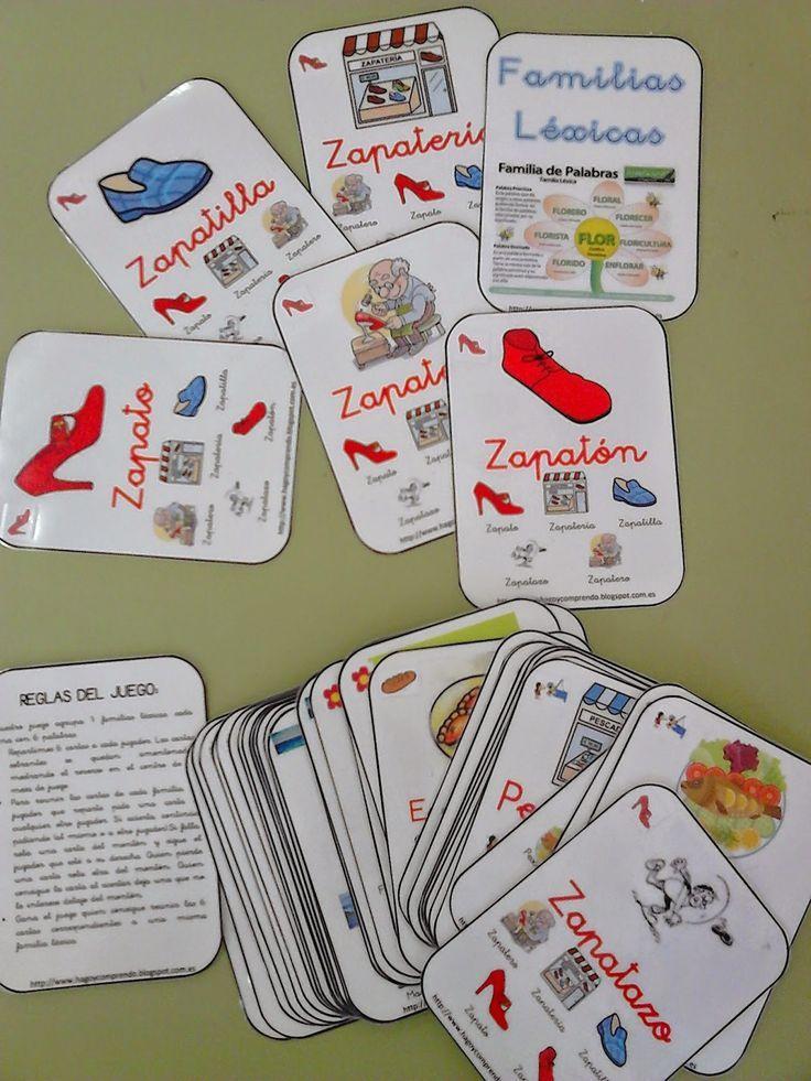 CLUB DE IDEAS | Juego de cartas de familias de palabras ~ La Eduteca