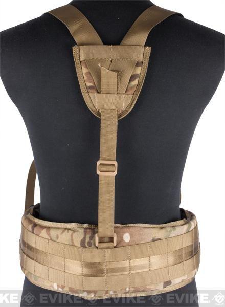 Matrix TMC MOLLE Gen II Belt with Suspenders - Multicam