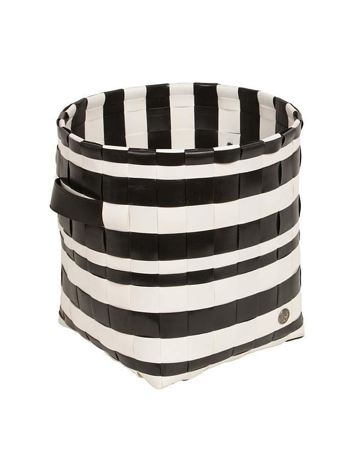 Funkcjonalny, pleciony kosz, ręcznie robiony, z tworzywa sztucznego z kampanii Handed By 81 PLN  #sale #limango #basket #design #home