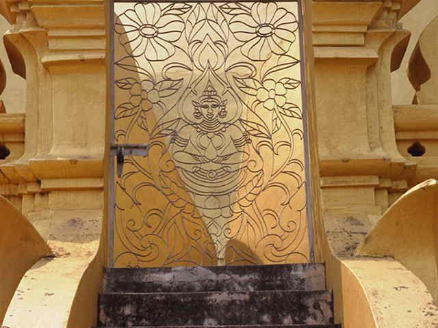 Detail of temple #Laos