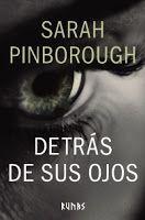 Entre montones de libros: Detrás de sus ojos. Sarah Pinborough