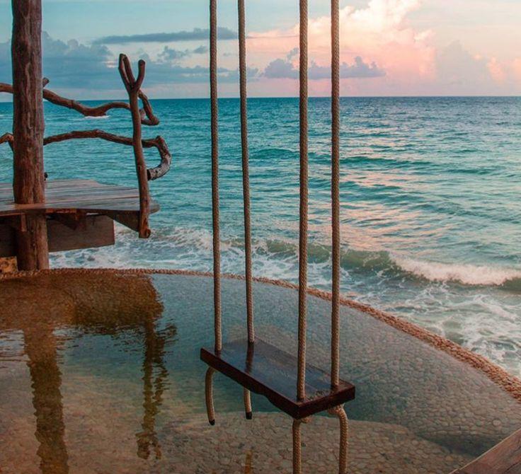 Azulik hotel tree house villas Tulum & Maya resort, Riviera Maya, Mexico