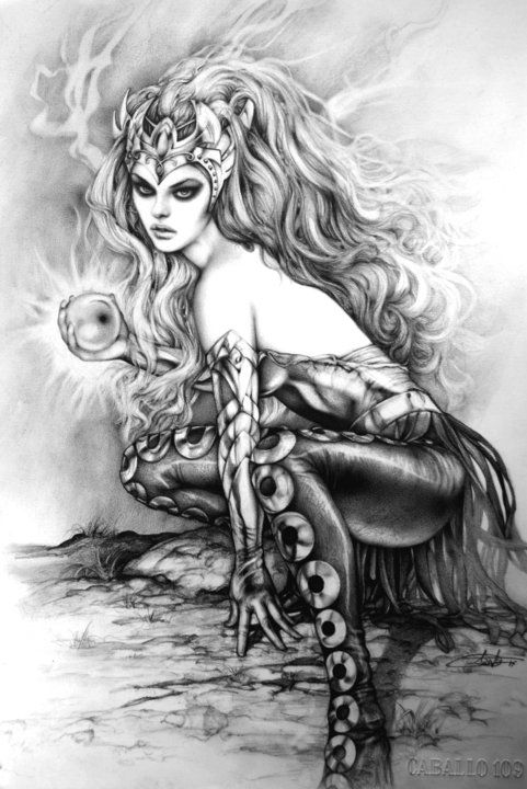 Amora the Enchantress; HAVE to incorporate her somehow!