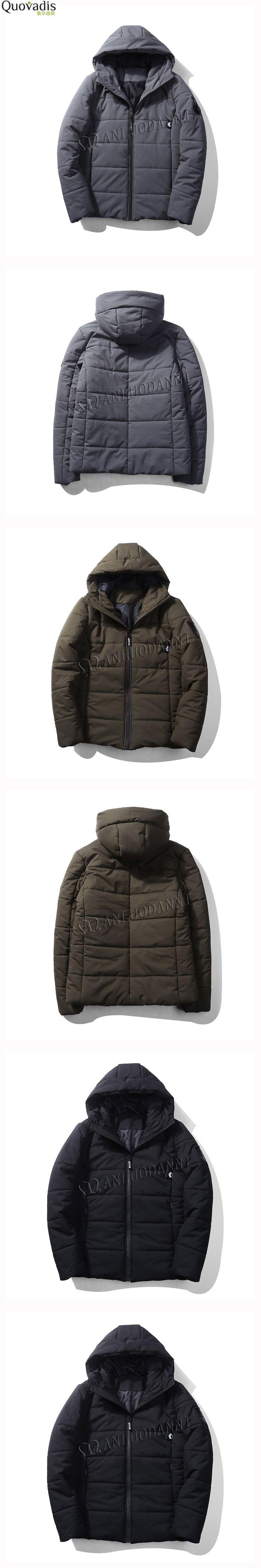 new Winter Cotton Cotton-padded Clothes Keep Warm down Jacket men coat parkas parka hombre hood outerwear(China) plus size