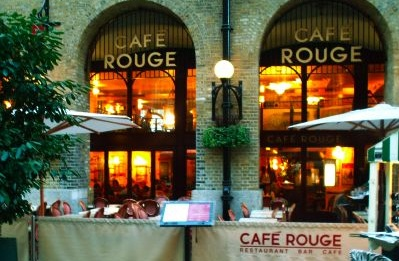 40% OFF Food Bill @ Cafe' Rouge Various Postcodes  http://www.myvouchercodes.co.uk/cafe-rouge