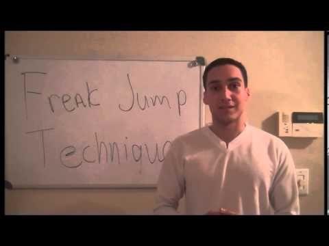 How to Increase Vertical Jump   Freak Jump Technique