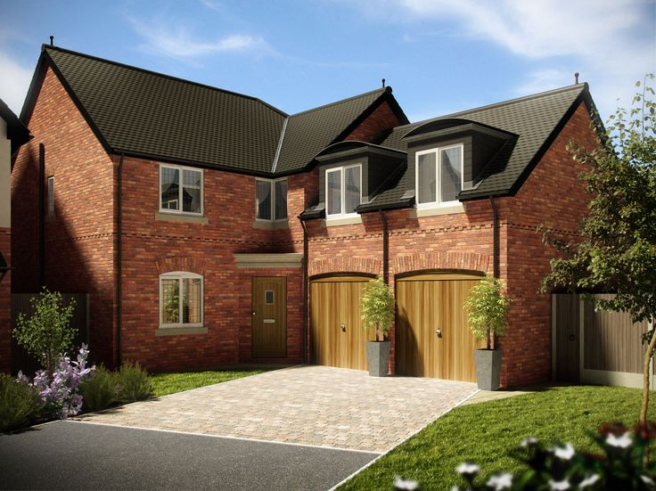 3d rendered house standard uk house 3ds max - Google Search