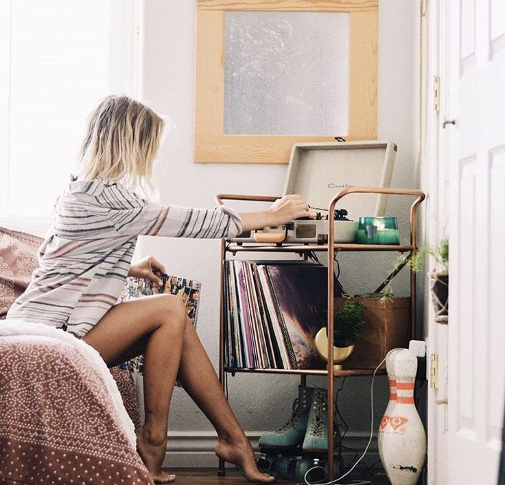 Best Record Player Stand Ideas On Pinterest Record Storage