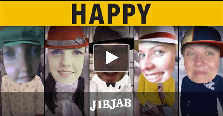 "Why settle for clapping along? Cast yourself in Pharrell Williams's megahit song & video and spread the ""Happy!"""