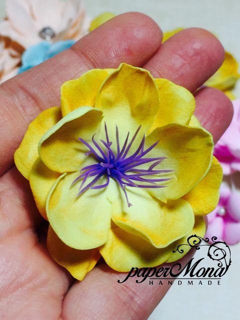 paperMona: My handmade flowers:))