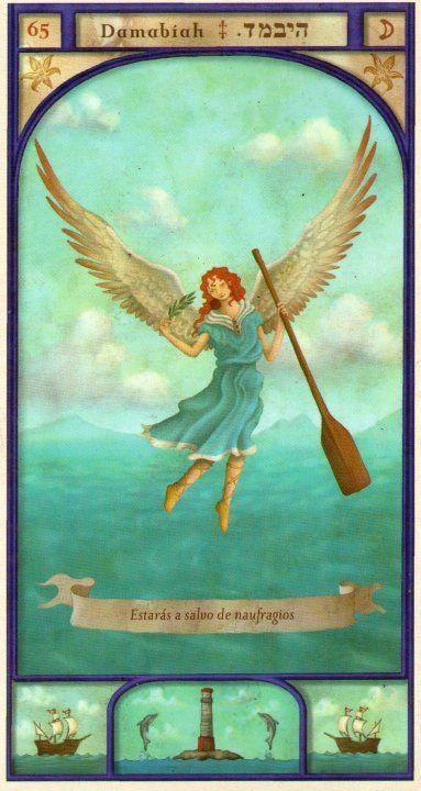 (65) DAMABIAH (Kabbalistic angel) protects those born 10 - 14 February, to succeed in business and love. (ángel Cabalístico) protege aquellos nacidos 10 - 14 febrero, para tener éxito en los negocios y el amor.