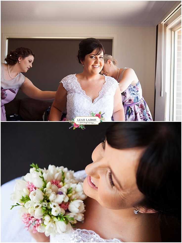 Bride getting ready | Bendigo Wedding