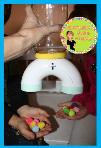 Make all your fun manipulatives during the summer, so you are ready to go for back to school!! Addition Machine: DIY