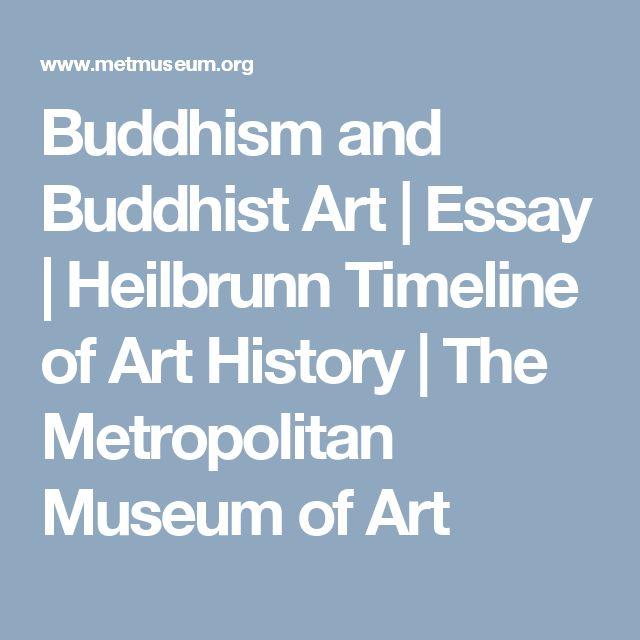 Buddhism and Buddhist Art | Essay | Heilbrunn Timeline of Art History | The Metropolitan Museum of Art