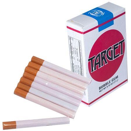Cigarettes en Chewing-gum !