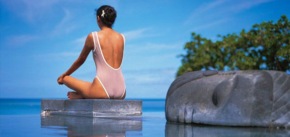 Exotic Spa tropical locations.