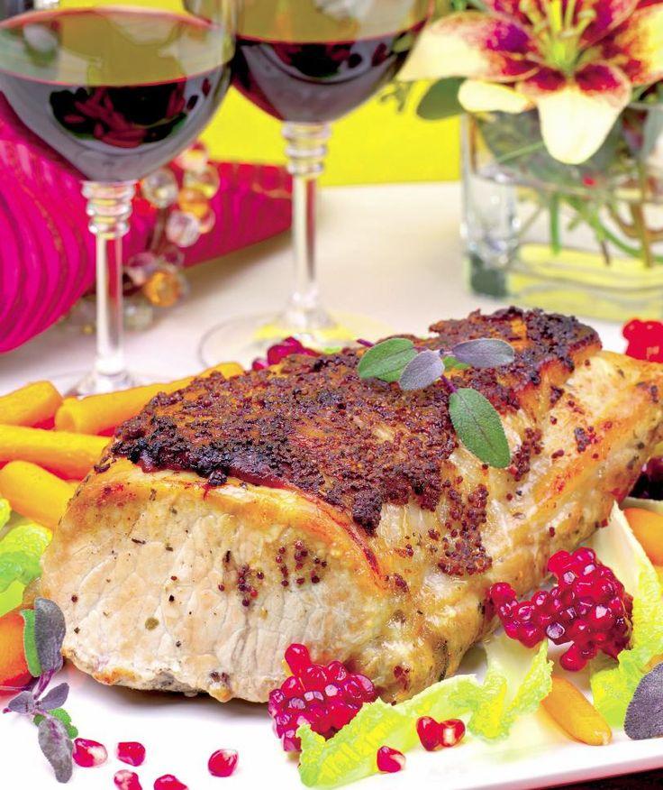 Cotlet în crustă de muştar | Retete culinare - Romanesti si din Bucataria internationala