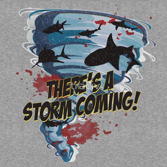 Shark Tornado - Shark Cult Movie - Shark Attack - Shark Tornado Horror Movie Parody - Storm's Coming!