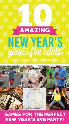 10 Fantastic Adult New Year's Games