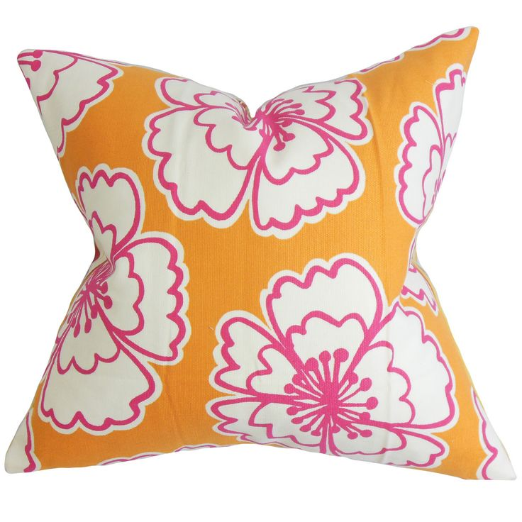 Winslet Floral Throw Pillow Cover