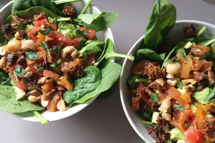 Recept: Spinazie Quinoa Salade