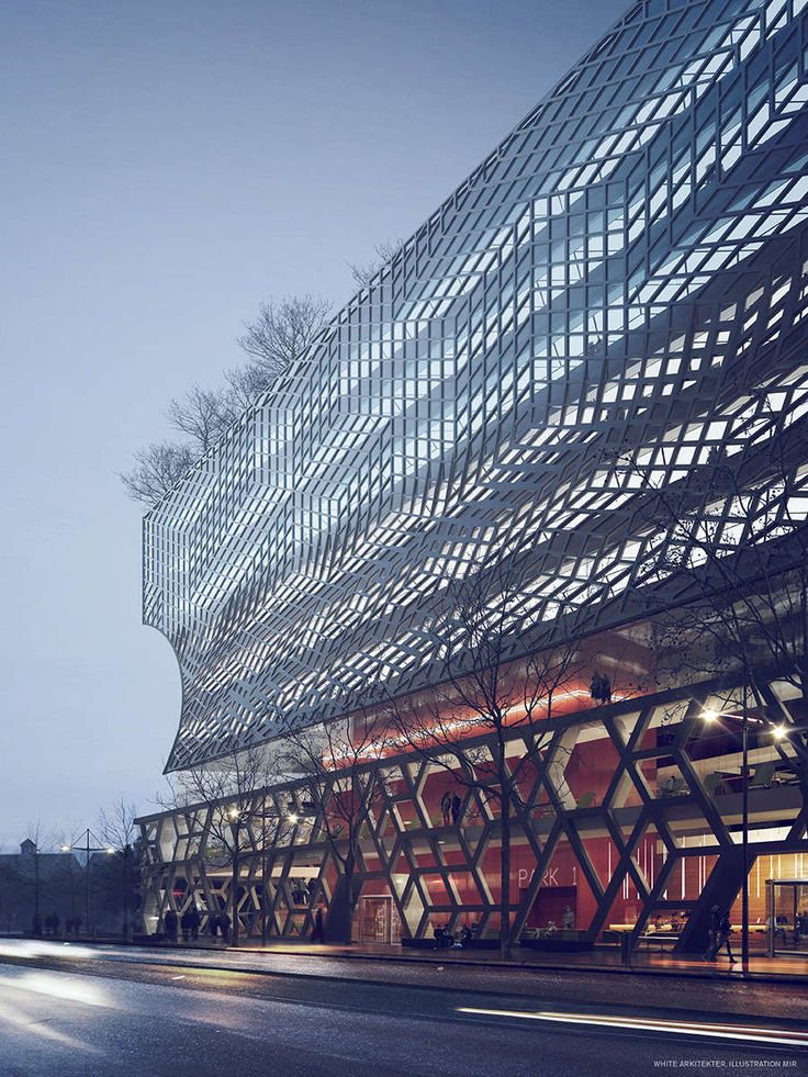 archi-versus:  Park 1 in Stockholm_White Arkitektur