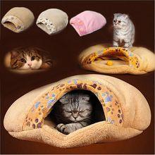 2015 oferta especial de alta qualidade gatinho gato caverna inverno quente Pet Bed almofada cão tapete dormir filhote de cachorro iglu ninho