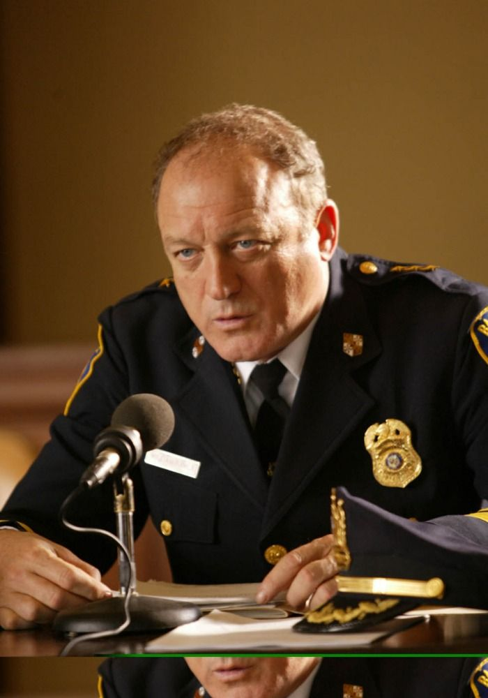 "John Doman as William A. ""Bill"" Rawls in ""The Wire"""