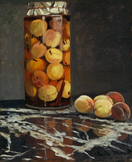 """""""Das Pfirsichglas"""" von Claude Monet - 1866 (Städel Museum Frankfurt am Main 01.06.2015)"""