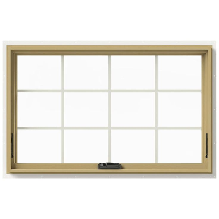 JELD-WEN 48 in. x 30 in. W-2500 Series White Painted Clad ...