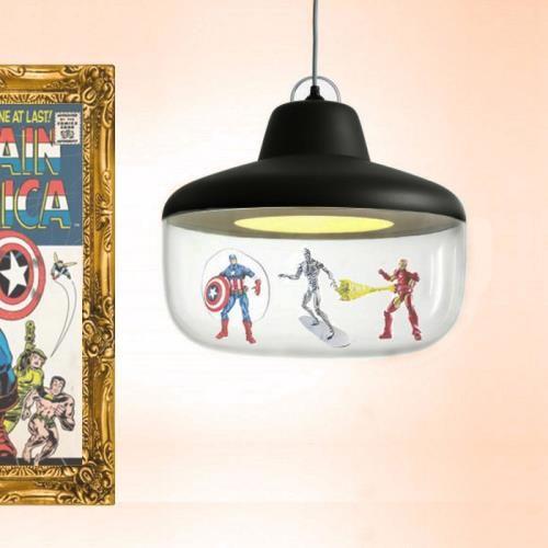 """Credits to Rickard Eriksson - Sweden Min superhero-lampa kommer göra sig bra i vår helt nya lägenhet. Den kommer sprida ljus över oss och alltid påminna oss om att varje dag försöka göra små """"hjältedåd"""""""