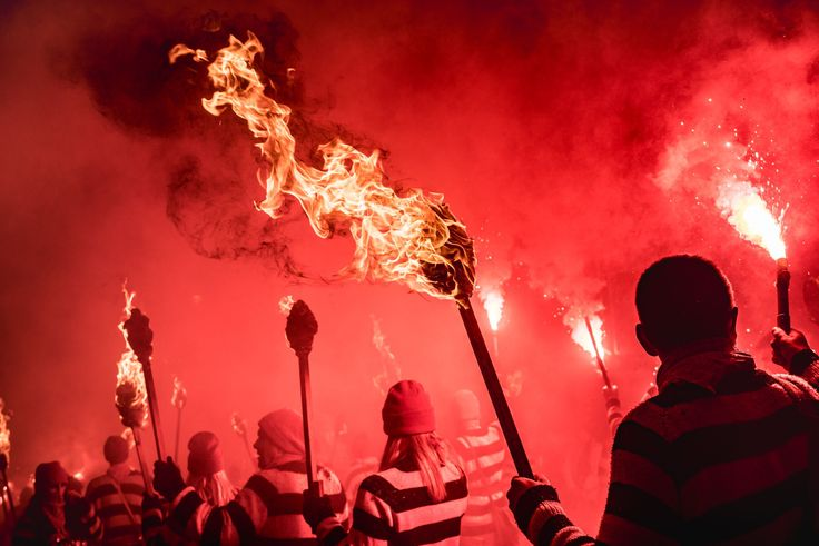 Brits celebrating Bonfire Night carry torches in the town of Lewes in this National Geographic Your Shot Photo of the Day.