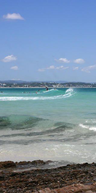 Surfing Rainbow Bay