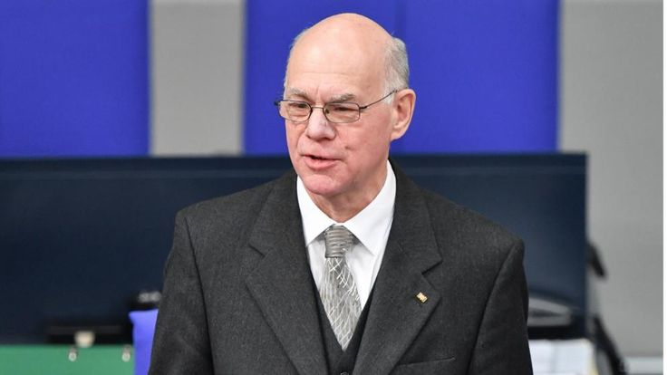 Norbert Lammert is the President of the Bundestag - he was also a candidate for the Federal President's office