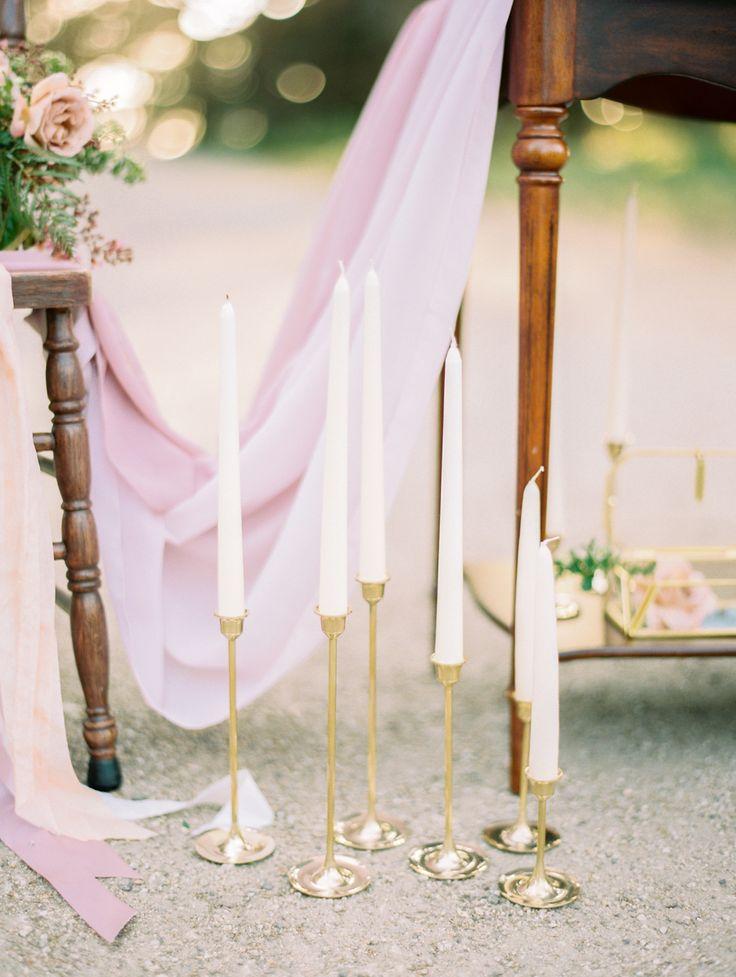 Mauve and gold wedding decor: Photography: Jasmine Lee - http://jasmineleephotography.com/